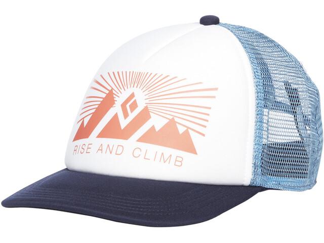Black Diamond Trucker Hat Women, white-blue ash